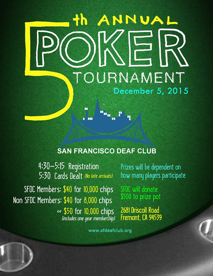 SFDC 5th Annual Poker 2015