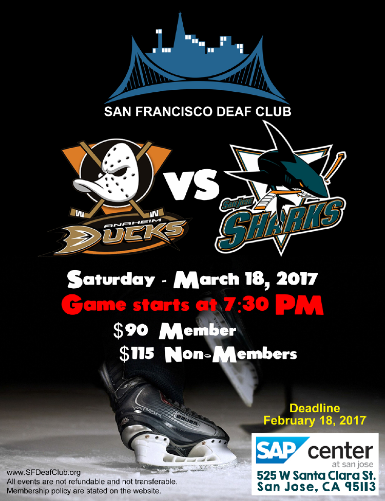 san jose sharks schedule pdf
